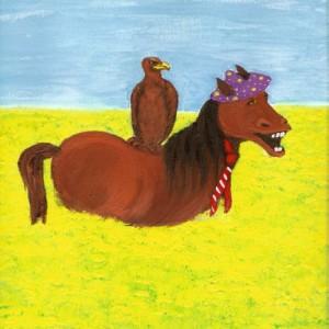 Der Adler und das Pferd